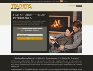 teachersdatingteachers.com screenshot