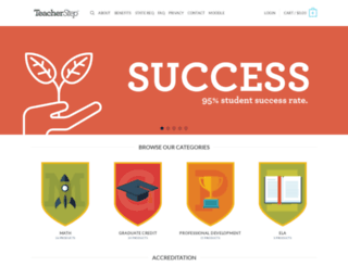 teacherstep.com screenshot