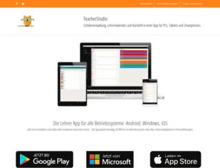 teacherstudio.de screenshot