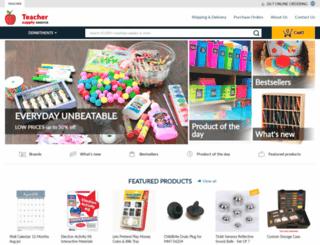 teachersupplysource.com screenshot