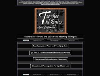 teachertidbytes.com screenshot