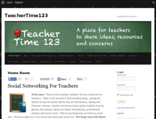 teachertime123.com screenshot