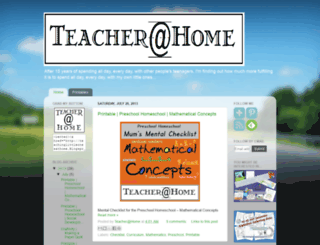 teachinglittleonesathome.blogspot.com screenshot