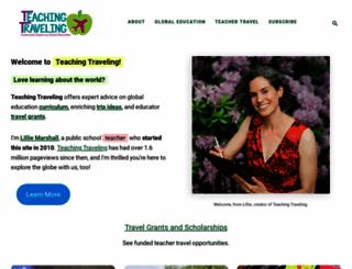 teachingtraveling.com screenshot