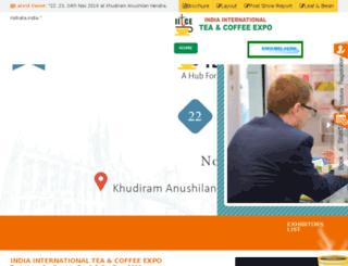 teacoffeeexpo.in screenshot