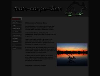 team-carpe-diem.de screenshot