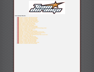 team-durango.com screenshot