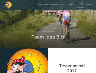 team.ideabici.it screenshot