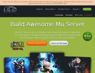 team.igc-network.com screenshot