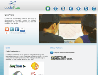 teamcodeflux.com screenshot