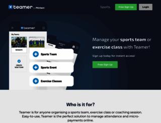 teamer.net screenshot