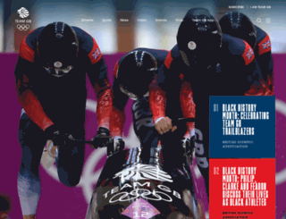 teamgb.com screenshot