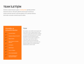teamiletisim.com screenshot