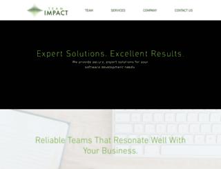teamimpact.com screenshot