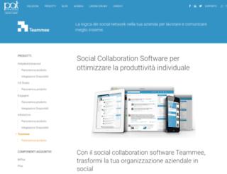 teammee.com screenshot