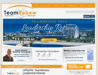 teamrenew.com screenshot