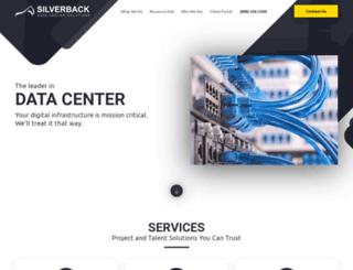 teamsilverback.com screenshot