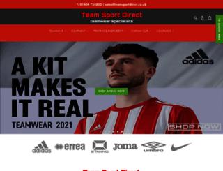 teamsportdirect.co.uk screenshot
