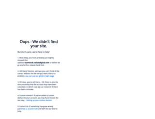 teamwork.radiatedigital.com screenshot