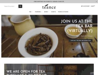 teance.com screenshot