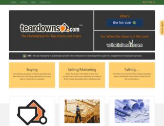 teardowns.com screenshot