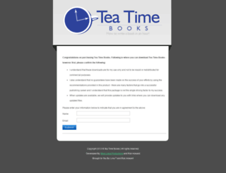 teatime.biggerbetterbooks.com screenshot