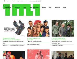 teatrmaly.tychy.pl screenshot