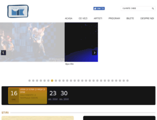 teatrulmic.ro screenshot