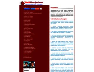 tebrikmesajlari.com screenshot