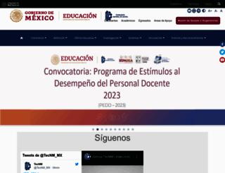 teccan.edu.mx screenshot
