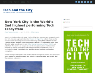 tech-and-the-city.com screenshot