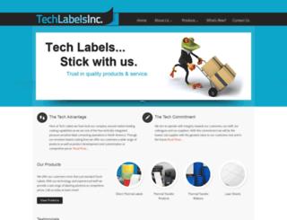 tech-labels.com screenshot