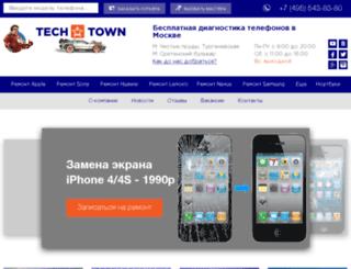 tech-town.ru screenshot