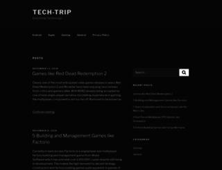 tech-trip.com screenshot