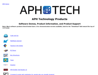 tech.aph.org screenshot