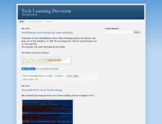 tech.learningdevotion.com screenshot