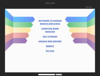 tech.rtcx.net screenshot