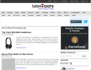 tech2date.com screenshot
