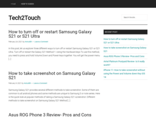 tech2touch.com screenshot