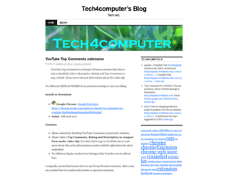 tech4computer.wordpress.com screenshot