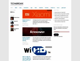 techabreakk.wordpress.com screenshot