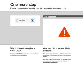 techbargains.com screenshot