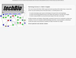 techbio.org screenshot