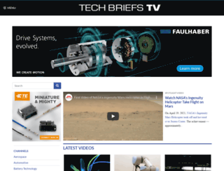 techbriefs.tv screenshot