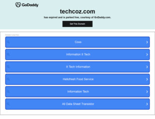 techcoz.com screenshot