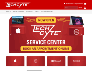 techcyte.isubookstore.com screenshot