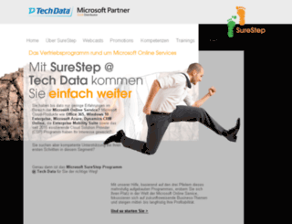 techdata-surestep.de screenshot