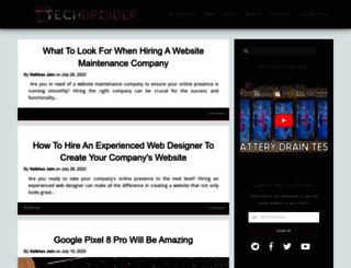 techdroider.com screenshot