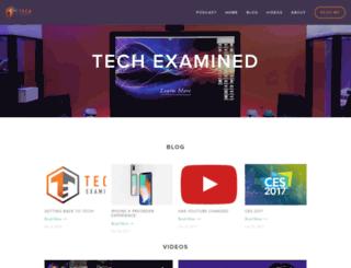 techexamined.com screenshot