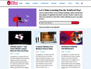 techferal.com screenshot